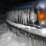 Fiat 125p zima