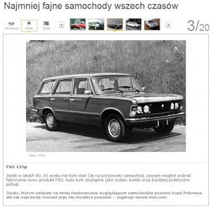 Najmniej fajne samochody wszech czasów - Onet_pl Moto