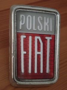 Emblemat Polski Fiat (1967 do 1976)