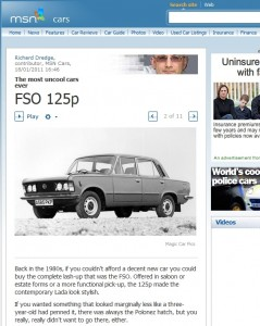 FSO 125p - The most uncool cars ever
